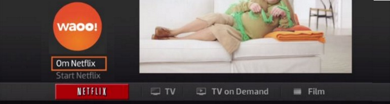 Netflix on pay TV STB