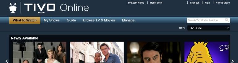 TiVo Online