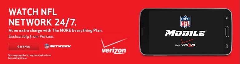 Verizon NFL mobile