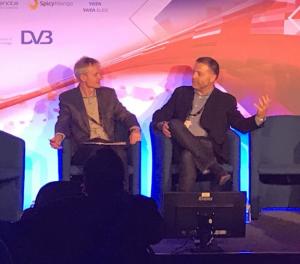 Simon Adams and Colin Dixon at TV Connect 2018
