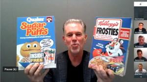 Reed Hastings Bandersnatch Frosties vs Sugar Puffs