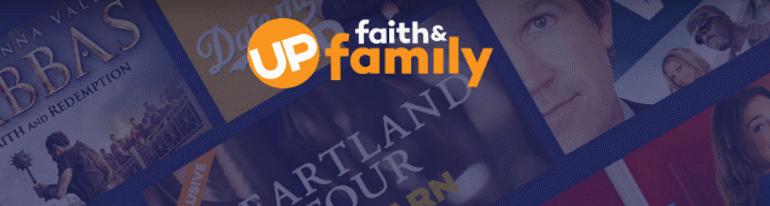 up faith and family splash