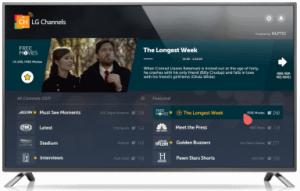 LG Channels app