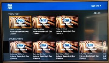 Fox Sports GO on Roku 2-2-20