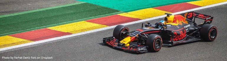 Motor racing F1 formula 1 splash