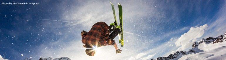 skiing winter x-games sports olympics splash
