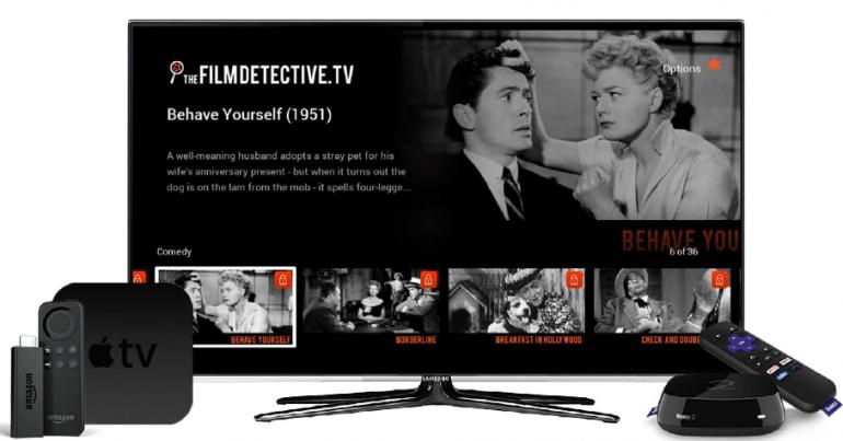 The Film Detective screens