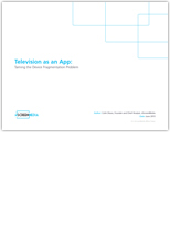 Television as an App